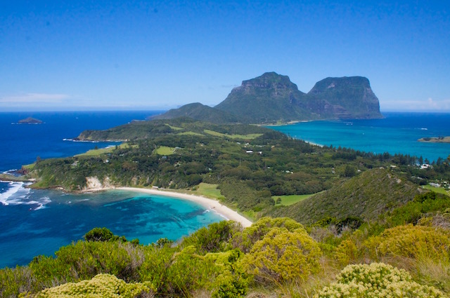 Lord Howe Island, one of the UNESCO Sites in New South Wales