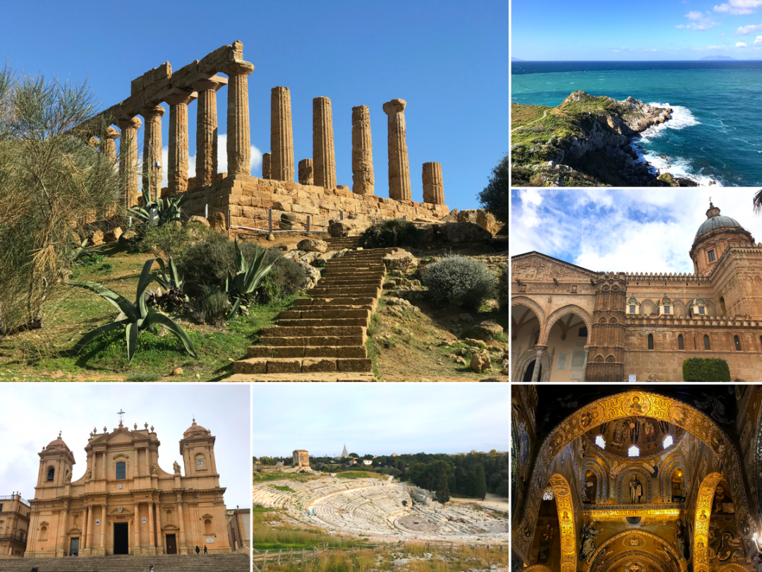 Sicilian World Heritage Sites