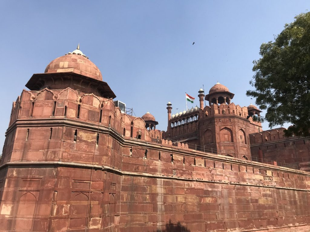 The Red Fort, one of the World Heritage Sites of Delhi