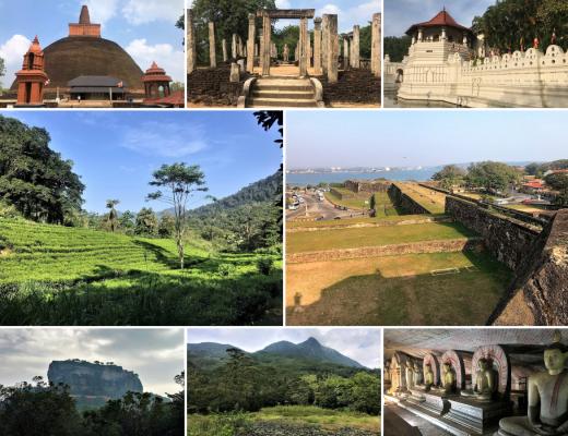 World Heritage Sites of Sri Lanka