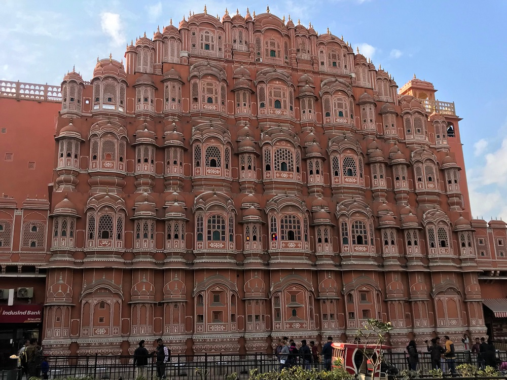Hawa Mahal, part of Jaipur City and one of the New World Heritage Sites for 2019