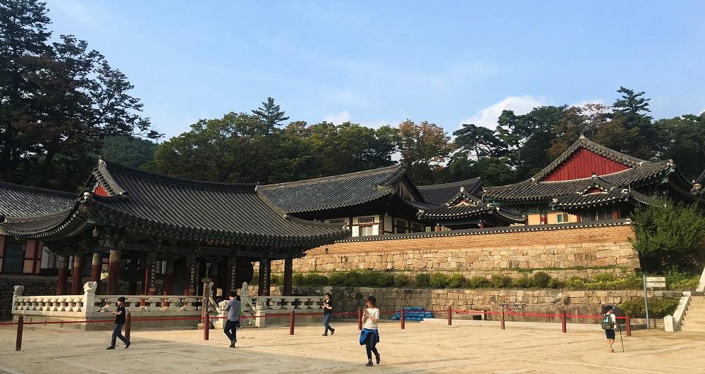 Haeinsa Temple Courtyard