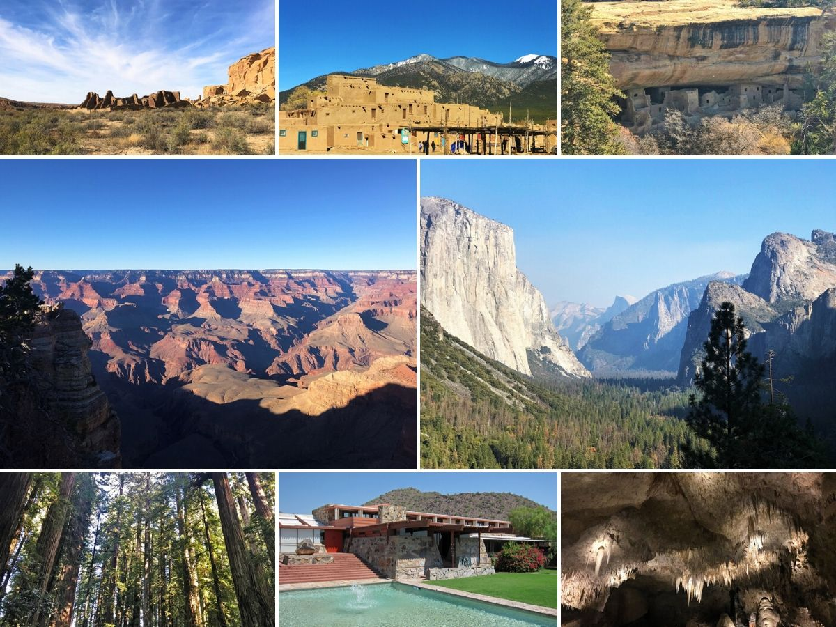 World Heritage Sites South West USA