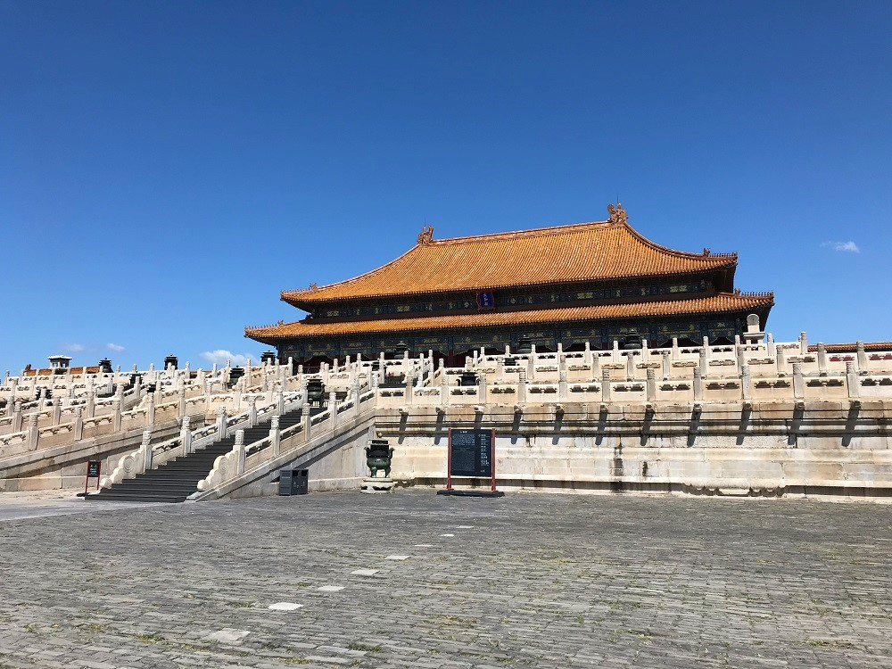 Hall of Supreme Harmony, Forbidden City World Heritage Site, Beijing