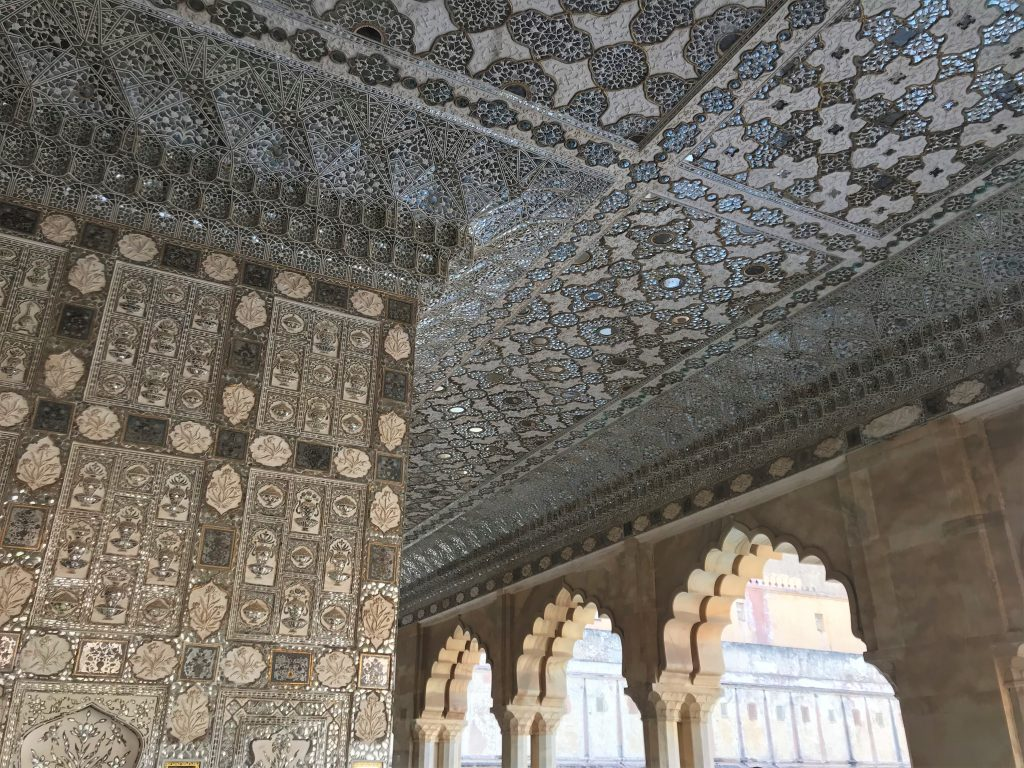 Detailing in the Amber Fort