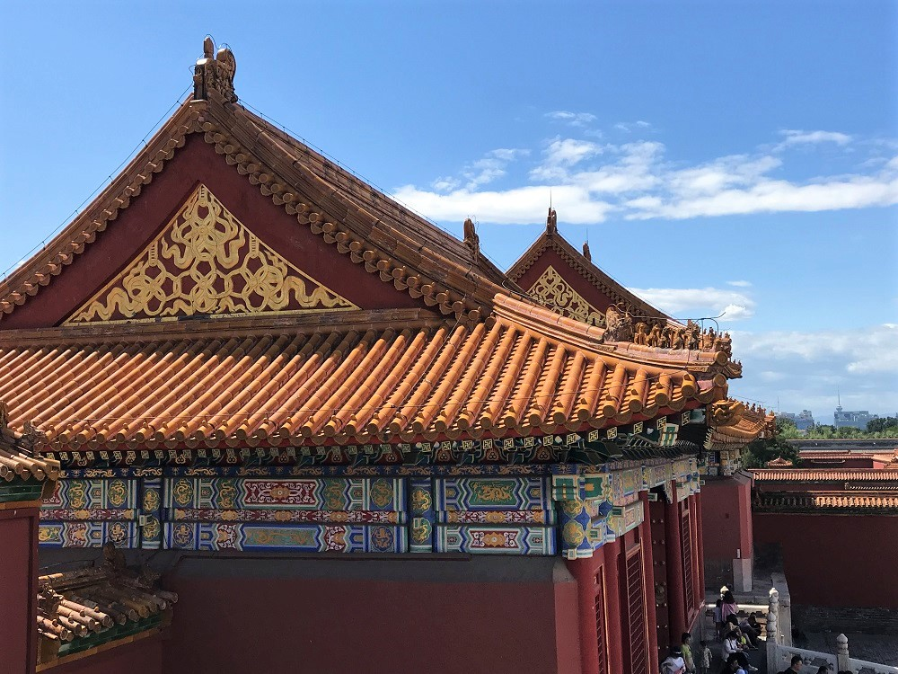 Palace Detailing, Forbidden City World Heritage Site, Beijing