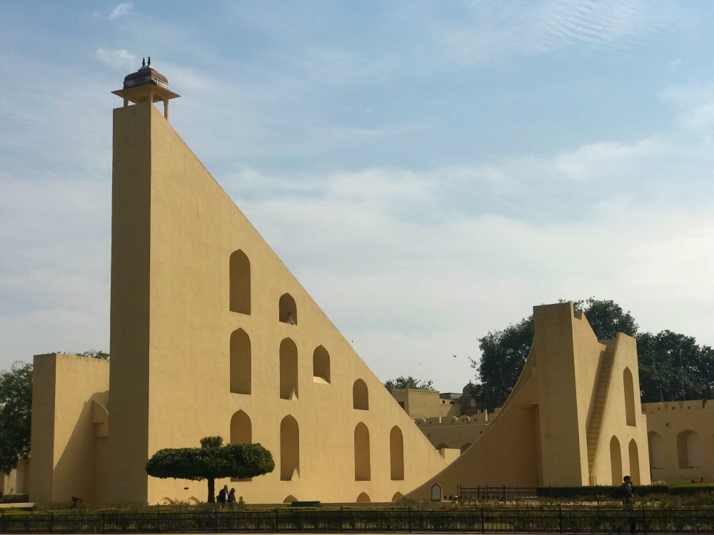 Sundials at the Jantar Mantar World Heritage Site