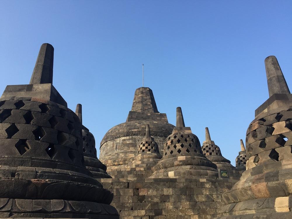 Borobudur World Heritage Site, Java, Indonesia
