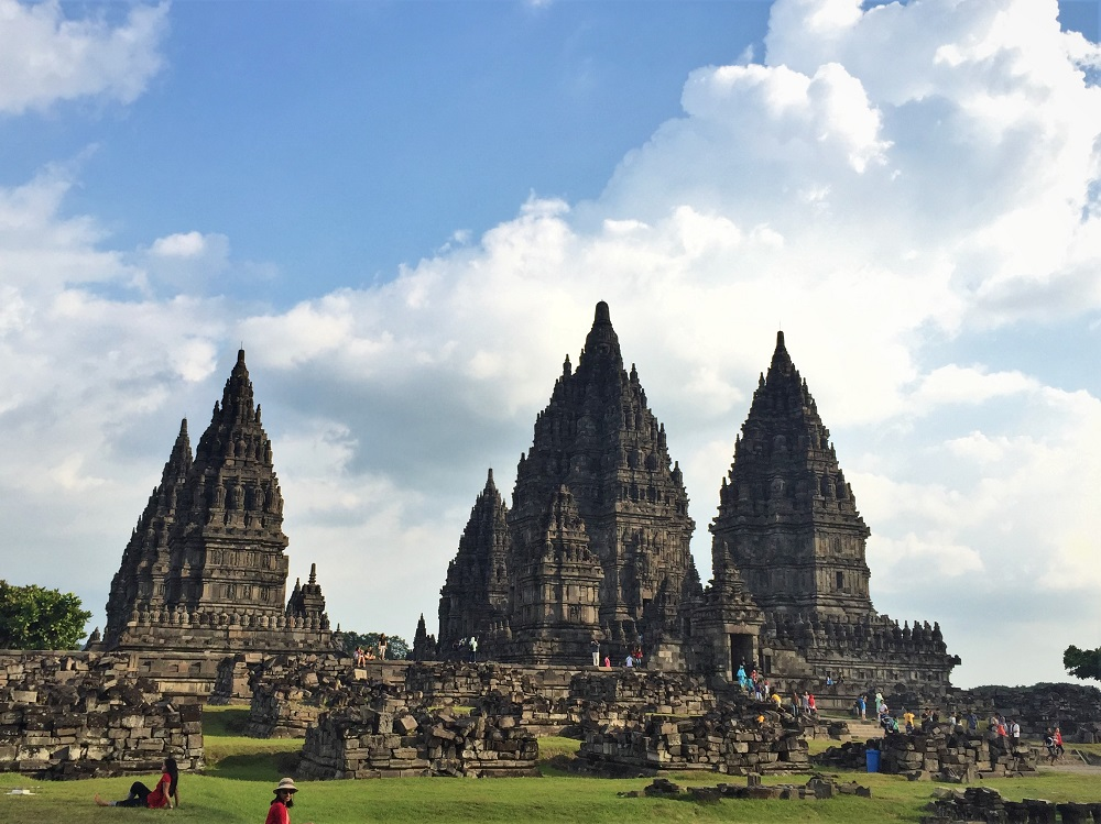 Prambanan Temple World Heritage Site, Java, Indonesia