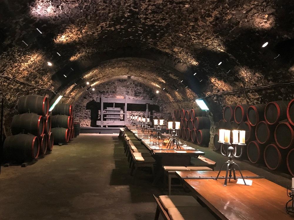 Tokaj wine cellar