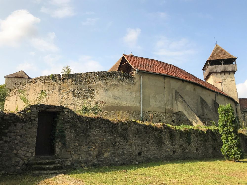 Calnic Fortified Church Walls