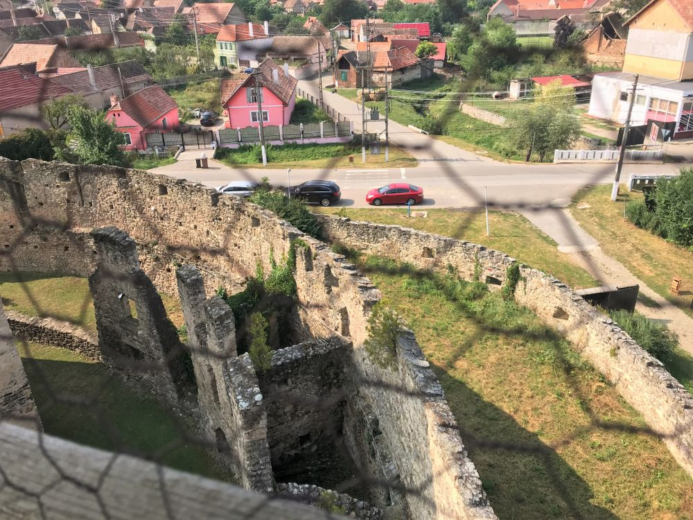 Siegfried Tower in Calnic Fortified Church