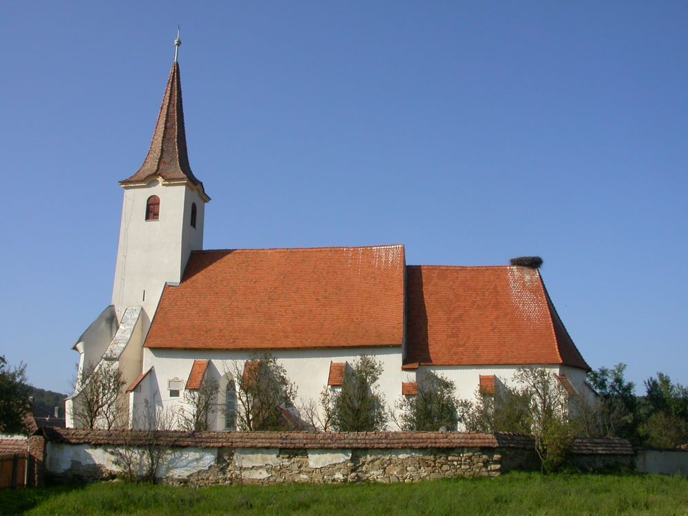 Darjiu Fortified Church