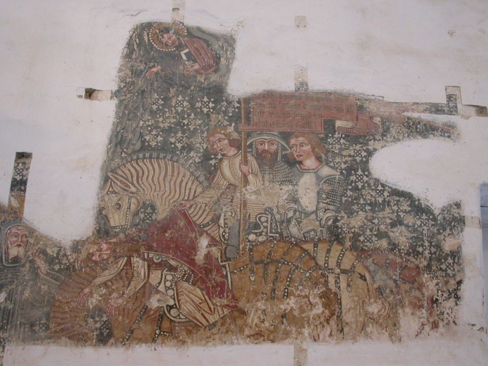 Darjiu Church Frescoes