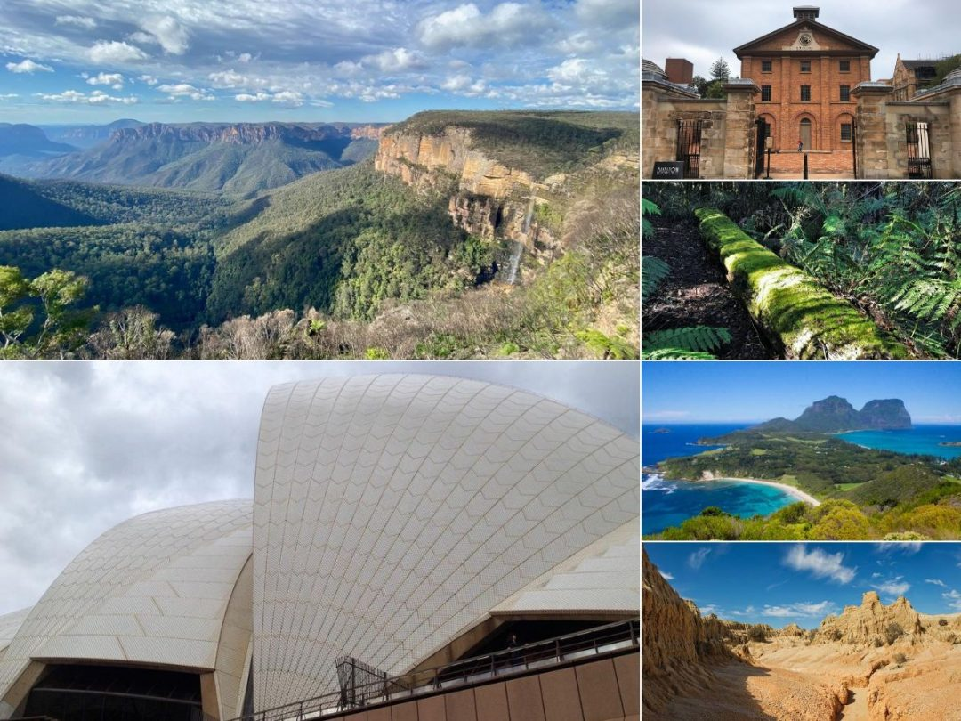 UNESCO Sites New South Wales