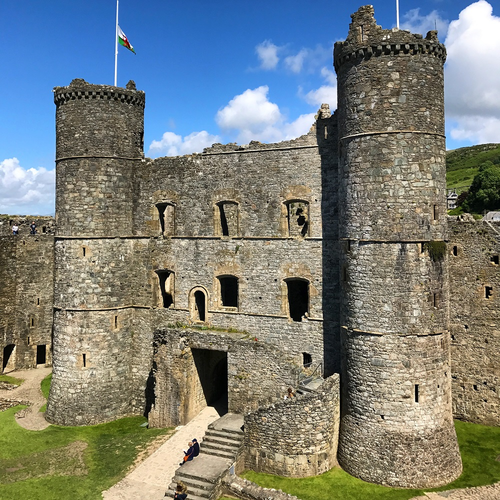 Harlech Castle World Heritage Site
