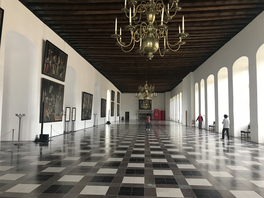 Kronborg Castle ballroom