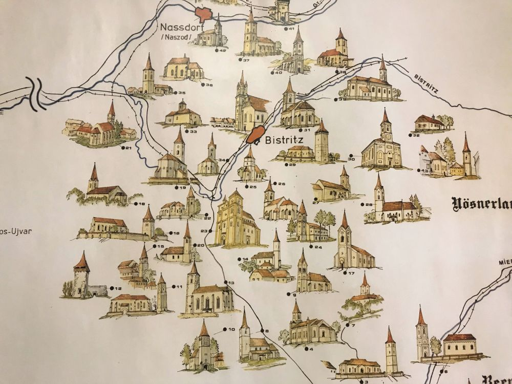 Romania Fortified Churches