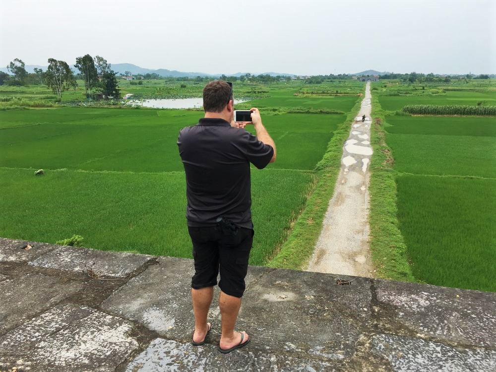Ho Dynasty Citadel interior