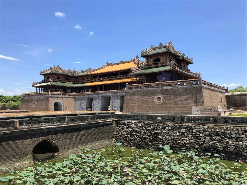 Hue Citadel Noon Gate World Heritage Sites in Vietnam
