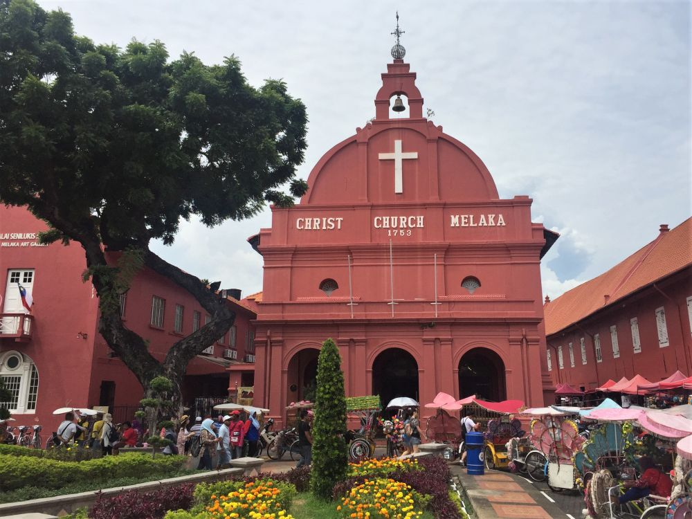 Melacca World Heritage Sites in Malaysia