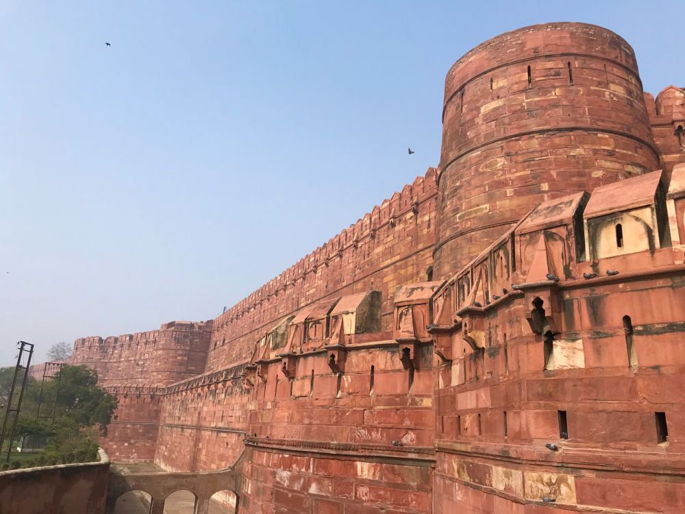 Agra Fort World Heritage Sites in Uttar Pradesh