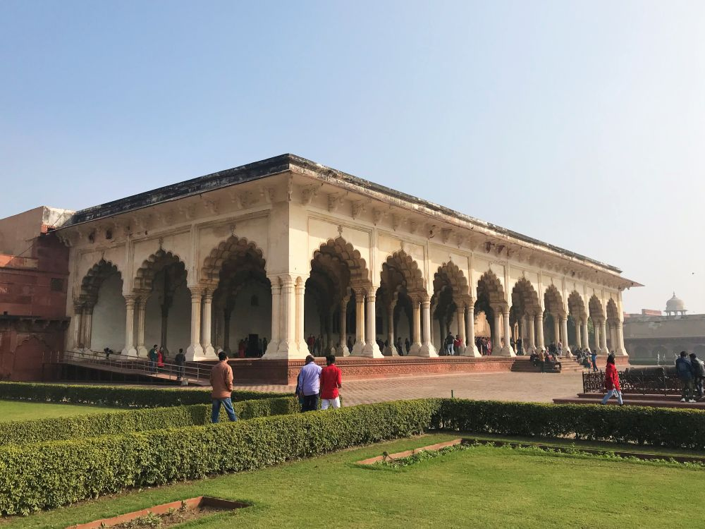 Agra Fort, Diwan-i-am (Hall of Public Audience)