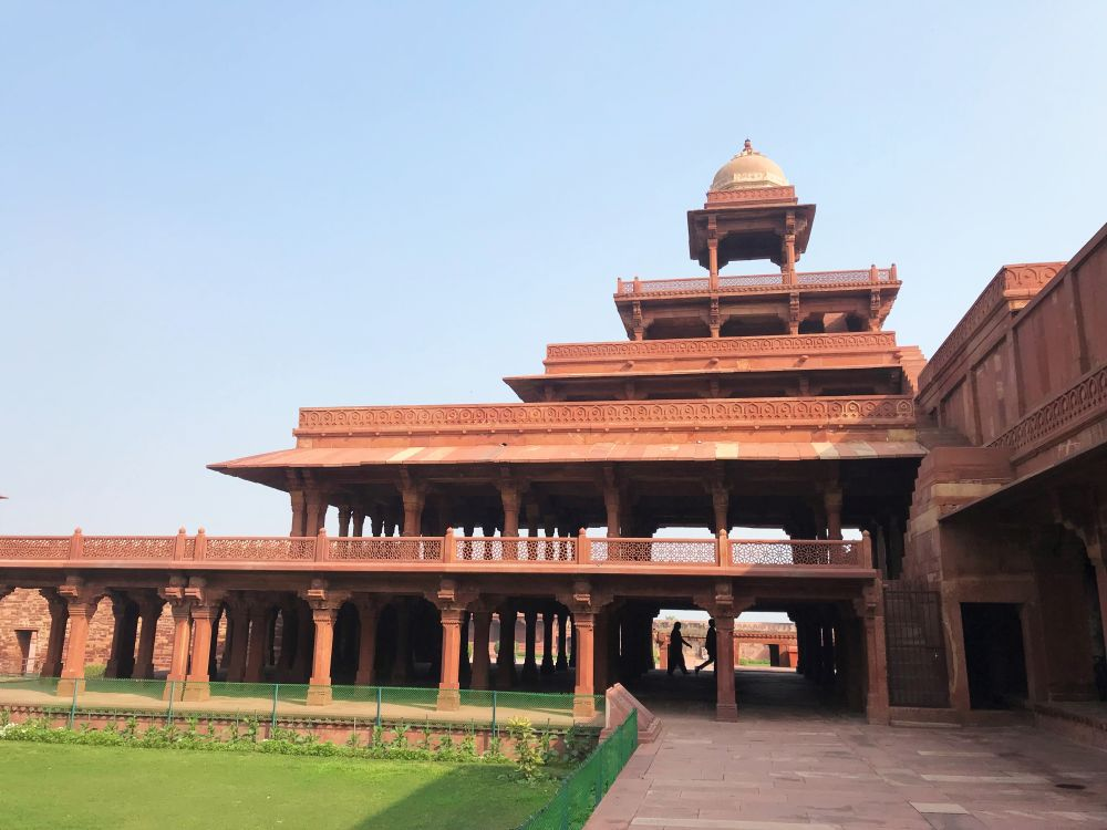 Fatehpur Sikri, Panch Mahal (Ladies' Court)