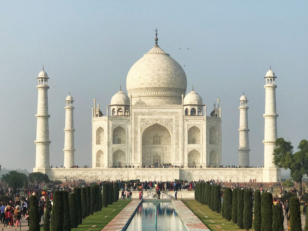 Taj Mahal UNESCO World Heritage Site in Uttar Pradesh