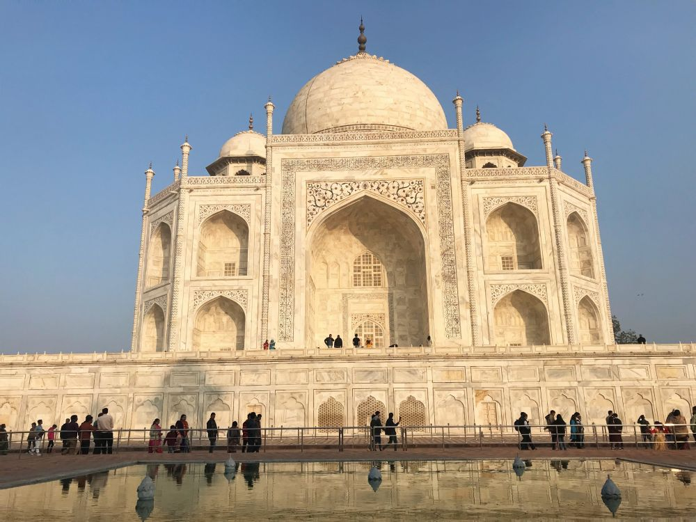 Taj Mahal close up